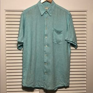 Orvis Sporting Tradition 100% Linen Casual Shirt.